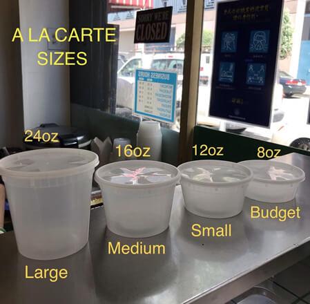 ala-carte-sizes